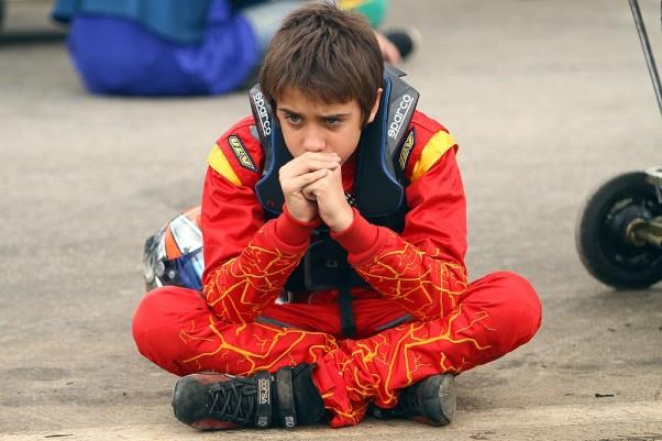 Foto: Flávio Quick – A concentração é uma das chaves de Guim para vencer.