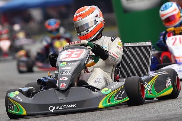 Foto: Luca Bassani - Nelsinho Piquet será um dos destaques do Open Minas de Kart