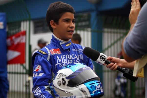 Foto: Flávio Quick – A equipe do SPORTV entrevistou o piloto no último final de semana.