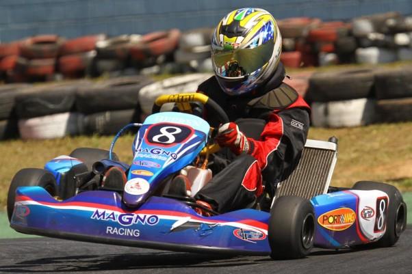 Foto: Flávio Quick - O piloto Júlio Wolf é um dos indicados da FMA na categoria Novato.