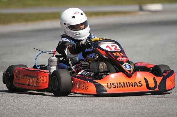 Gustavo Zwetkoff venceu mais uma com a BF Racing