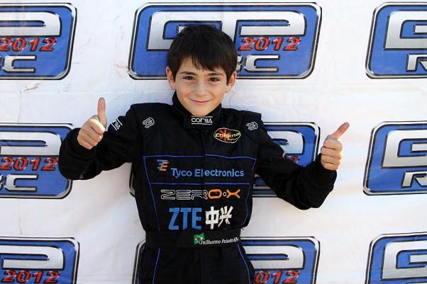 Foto: Flávio Quick - Guilherme Peixoto se classificou no mês passado na classe Cadete.