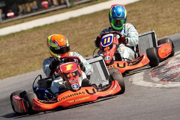 Foto: Flávio Quick - Bruno Fusaro (1) e Fernando Buzollo (11) disputaram posições na Super Master.