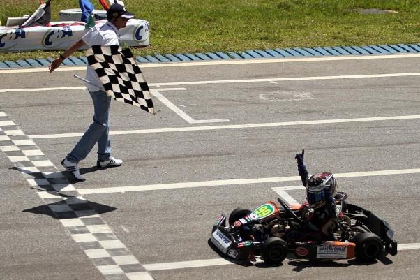 Thiago Neves foi o campeão da Cadete - Foto: Flávio Quick