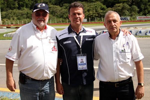 Foto: Flávio Quick - Pedro Sereno (FMA), Rafael Cançado (RBC) e Rubens Gatti (CNK/CBA)