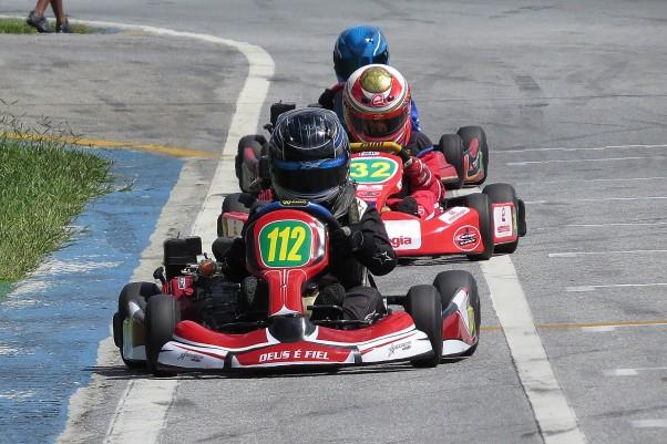 Foto: Fabiola Cadar - Ayrton Gil venceu as duas da Cadete.