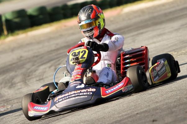 Alain Sisdelli foi um dos pilotos que venceu nesta etapa com Techspeed.