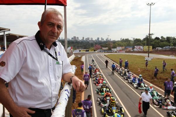Rubens Gatti diz que as escolinhas vão descobrir centenas de bons pilotos no Paraná /Crédito da foto: Orlei Silva/Divulgação