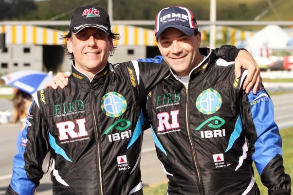 Fernando Buzollo e Bruno Fusaro representarão o time na Super Master.