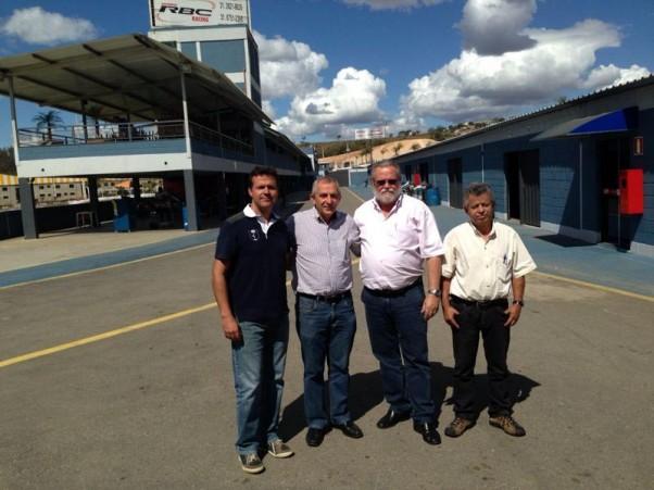 Foto: Divulgação - Da esquerda para direita: Rafael Cançado, Rubens Gatti, Pedro Sereno e Antônio Santos.