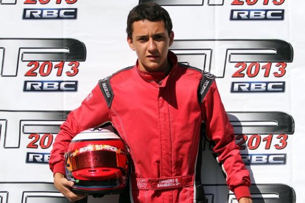 Em São Paulo o mineiro Evandro Bambirra garantiu a sua classificação.