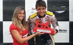 Foto: Divulgação - Guim recebeu normalmente o seu troféu de segundo lugar.