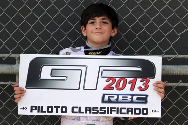 Foto: Flávio Quick - Guilherme Peixoto garantiu sua vaga neste sábado, na categoria Jr. Menor.