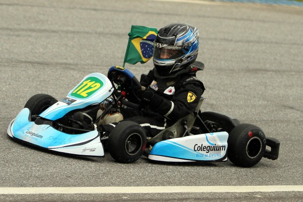 Campeão em 2013, Ayrton Gil terá mais uma temporada na Cadete. - Foto: Flávio Quick